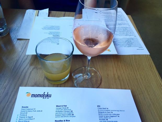Momofuku DC cocktails