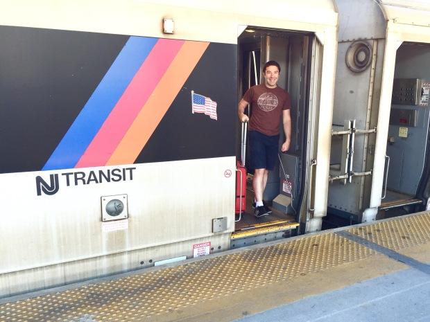 NJ Transit: Atlantic City train station