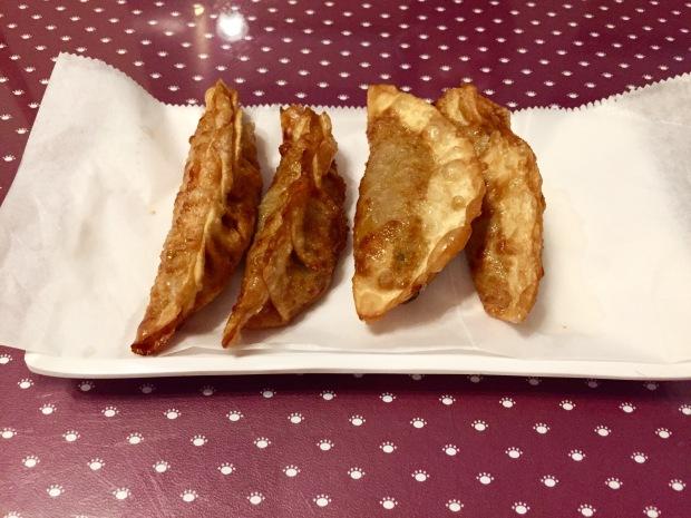 Da Rae Won pork dumplings