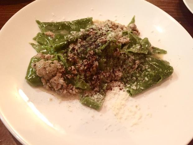 Le Virtu pasta: taccozzele all'aquilana