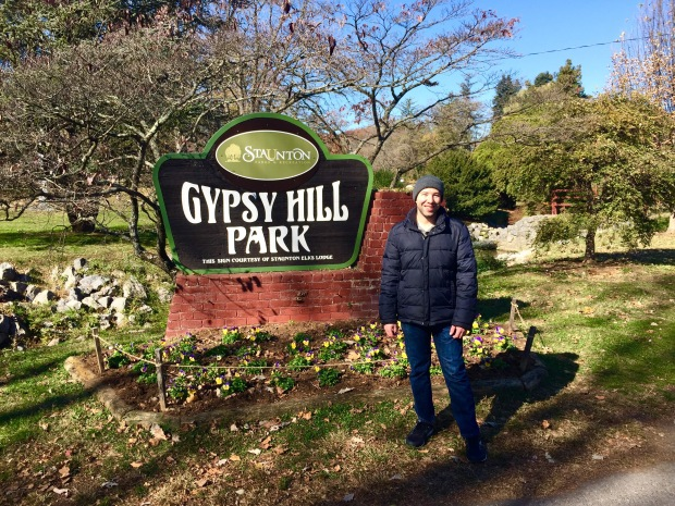 Paul standing at Gypsy Hill Park