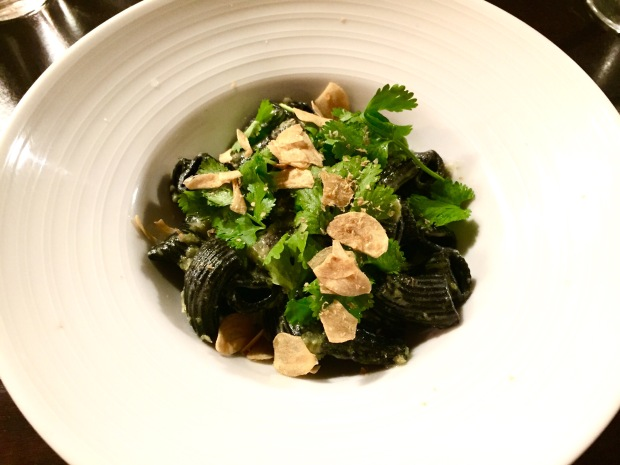 The Shack: Squid Ink Rigatoni