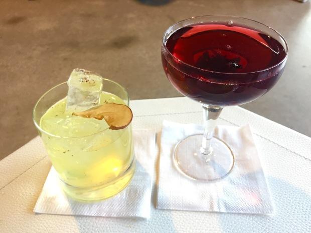 R. Bar cocktails
