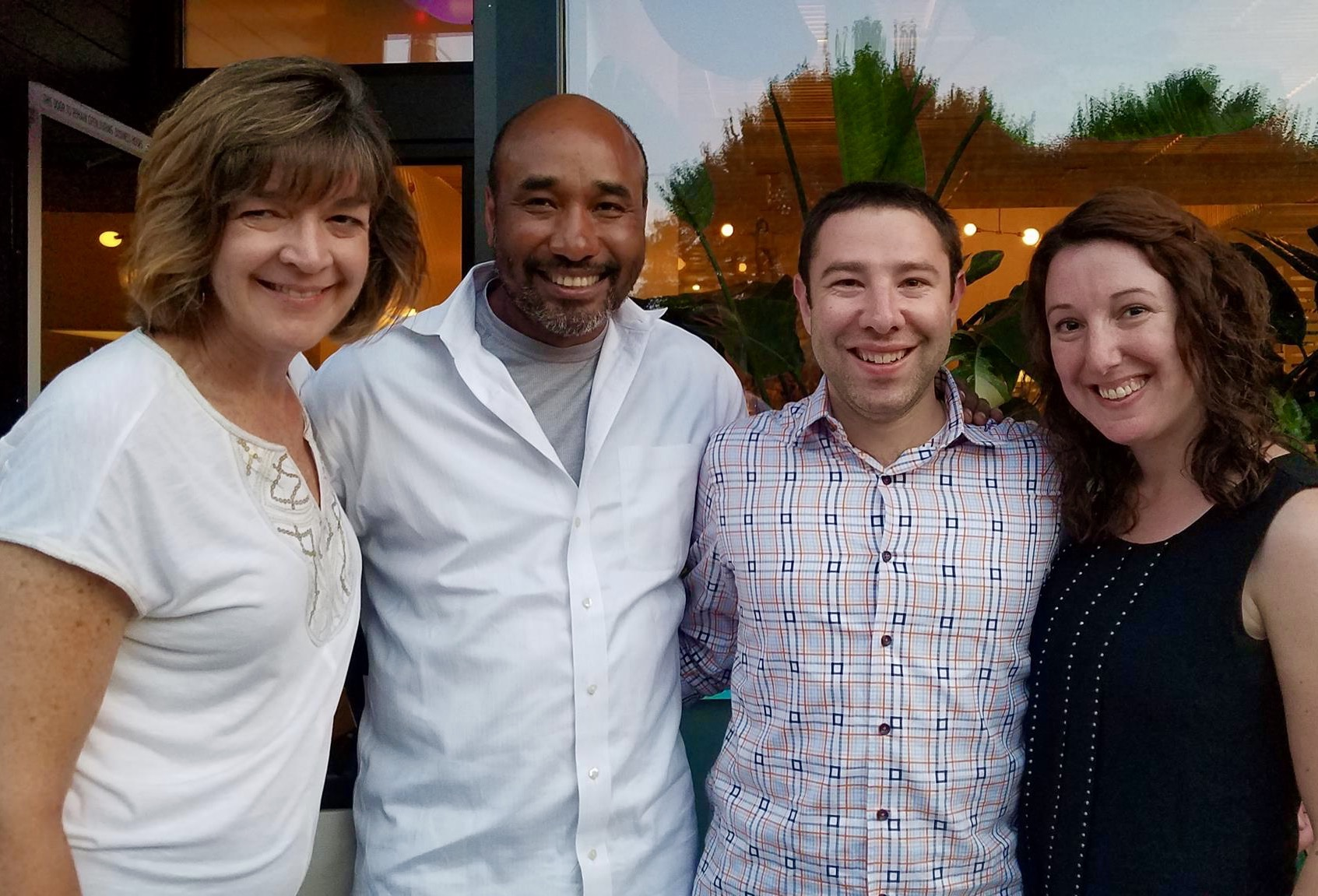 Marnay, Paul, Marcel and Martha at Tusk in Portland