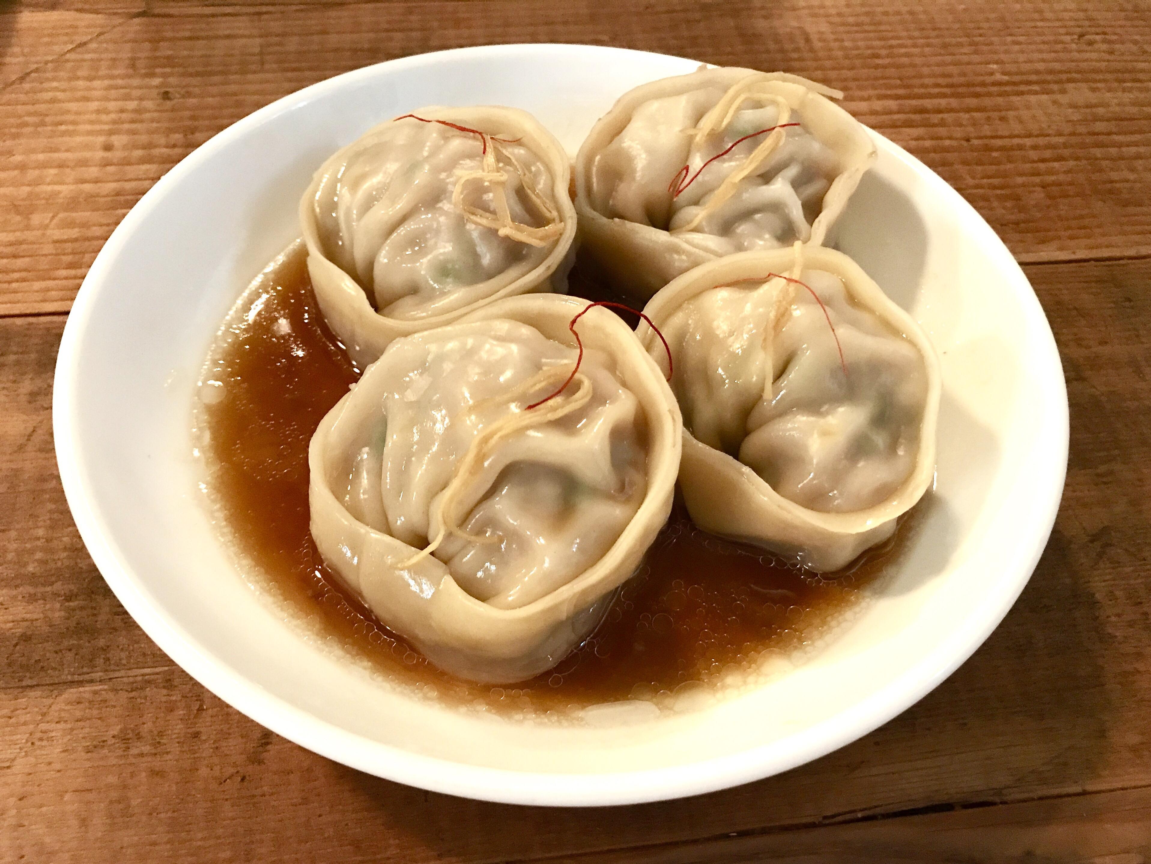 Han Oak dumplings