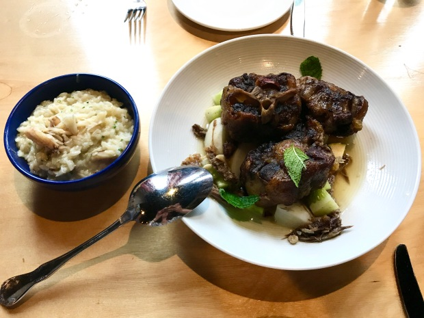 JuneBaby Mama Jordan's oxtails with featured rice from Jacksonville, Florida