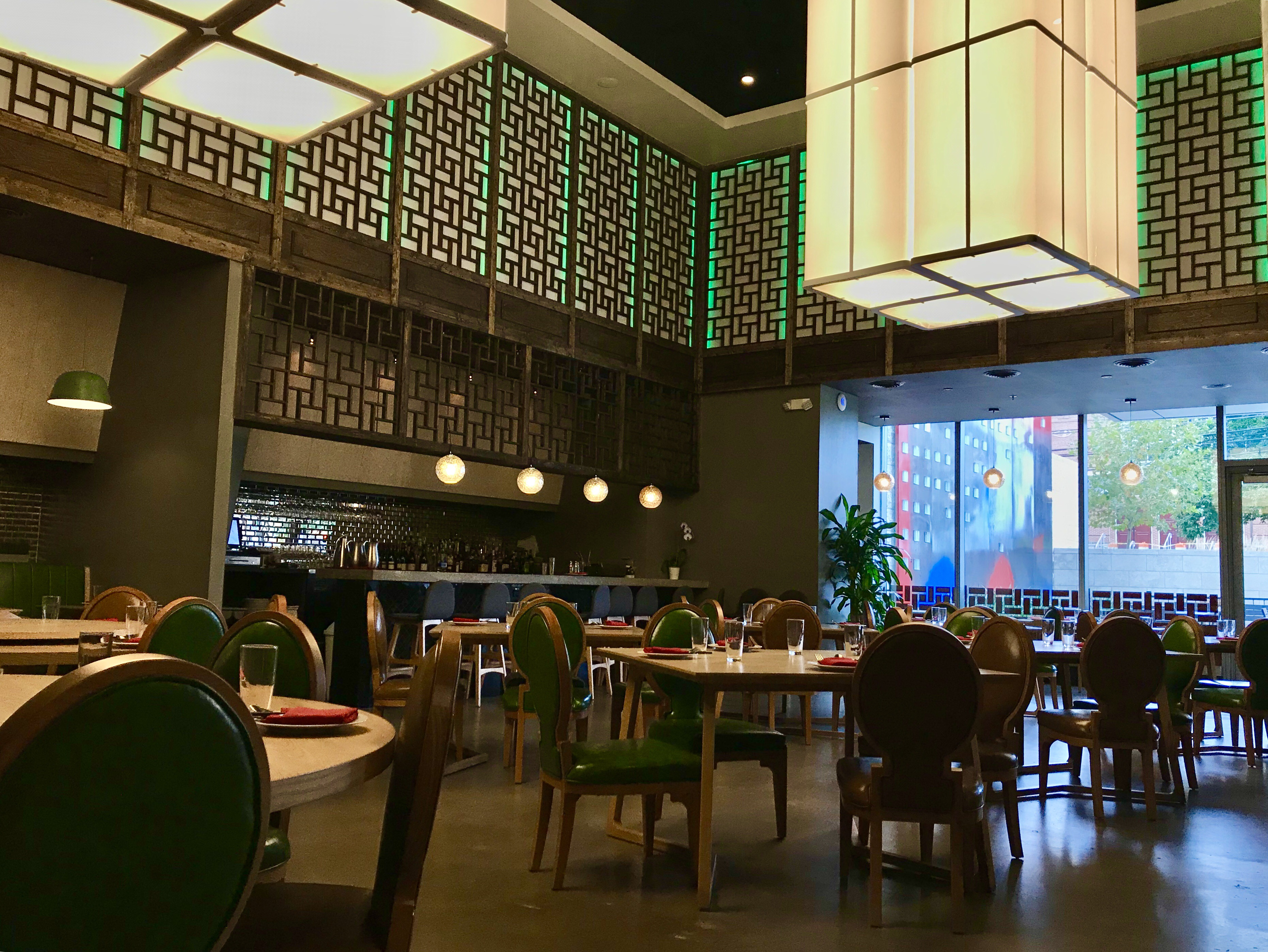 Q by Peter Chang restaurant interior