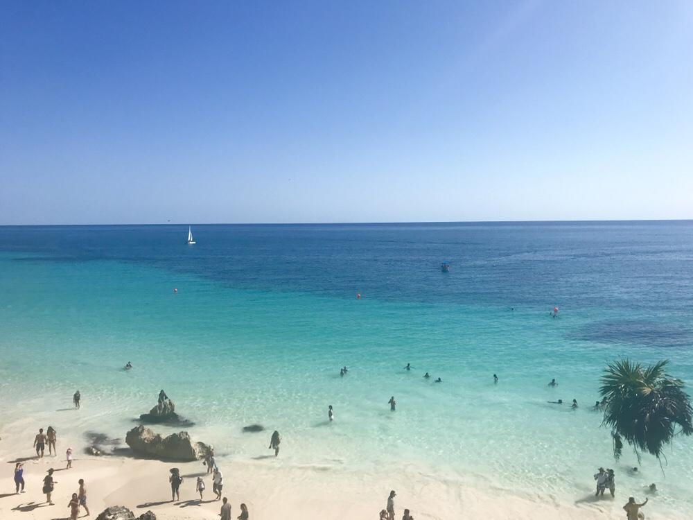 Tulum Mexico ocean