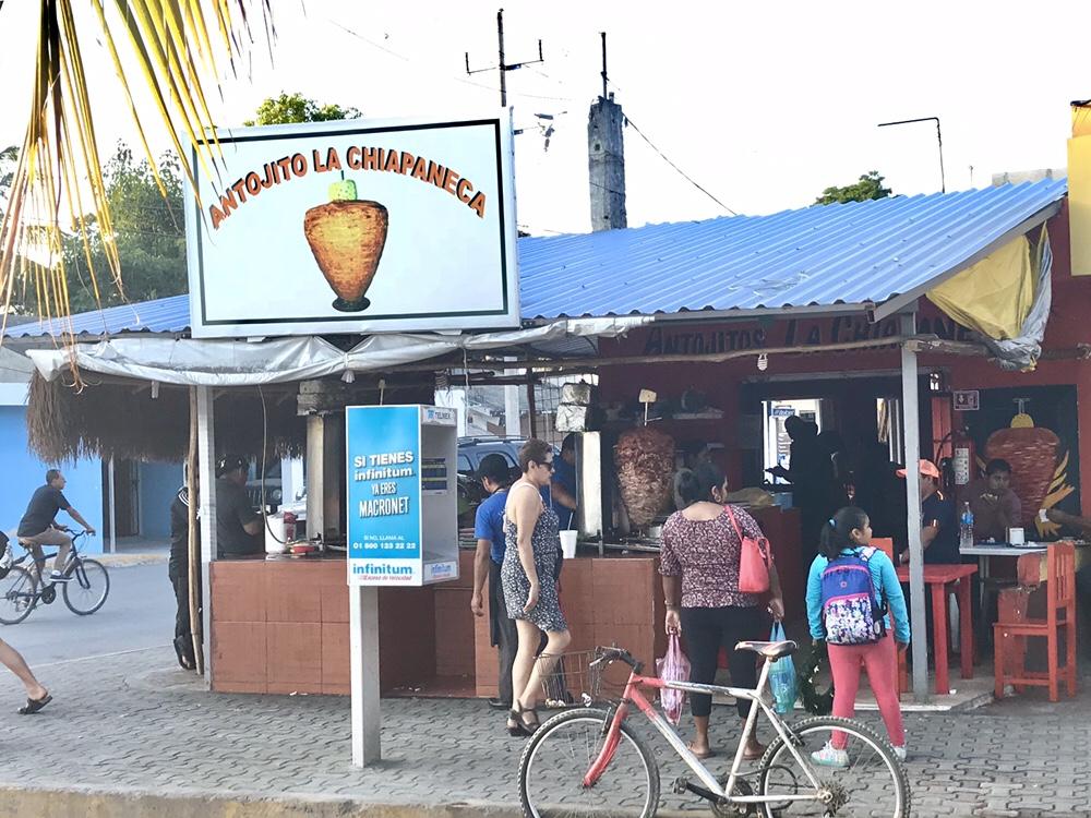 Los Antojitos la Chiapaneca taqueria in Tulum, Mexico