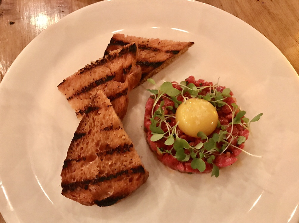 Metzger Bar & Butchery steak tartare