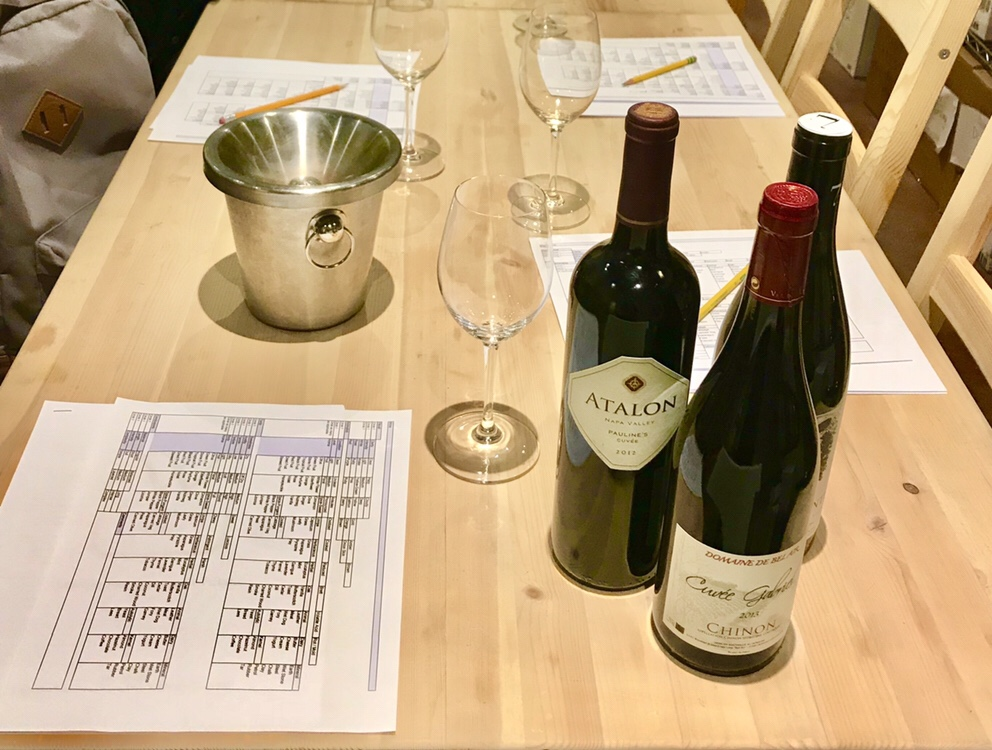 Wardman Wines wine class in Brookland