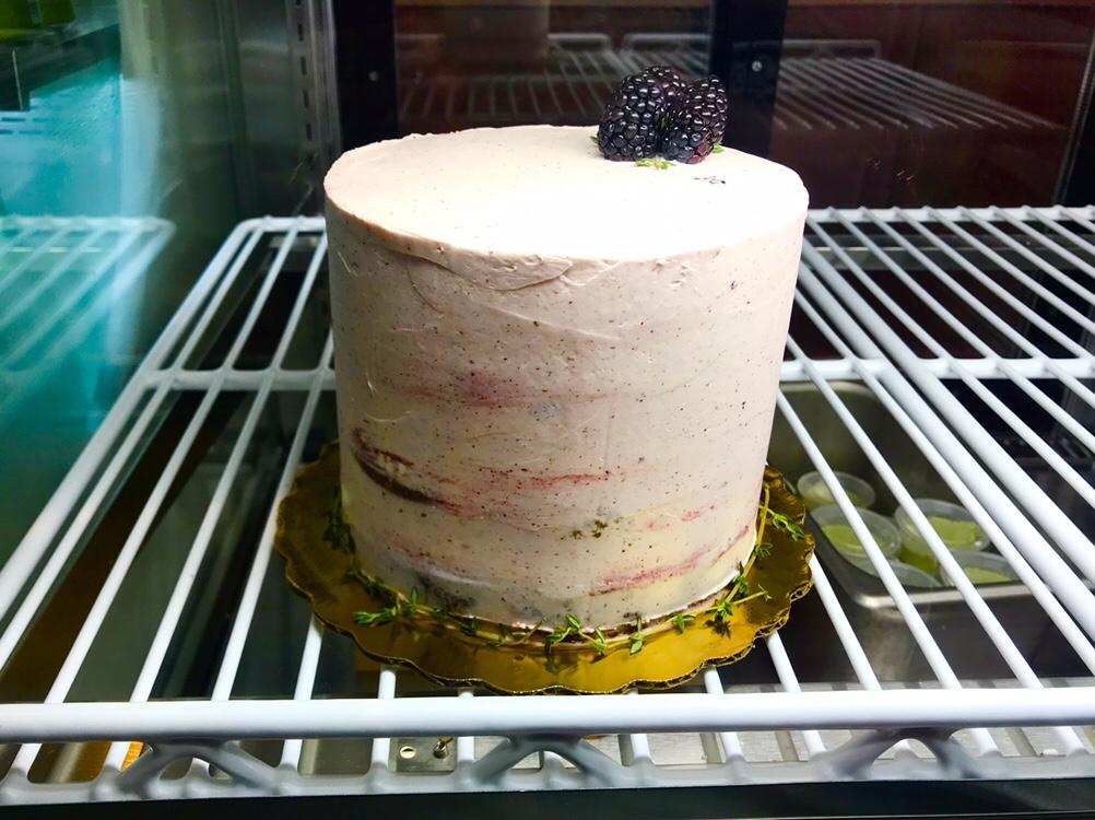 Elle blackberry cake in DC
