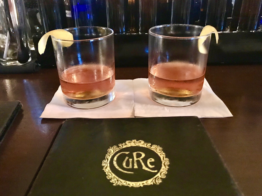 Bonded Sazerac at Cure in New Orleans