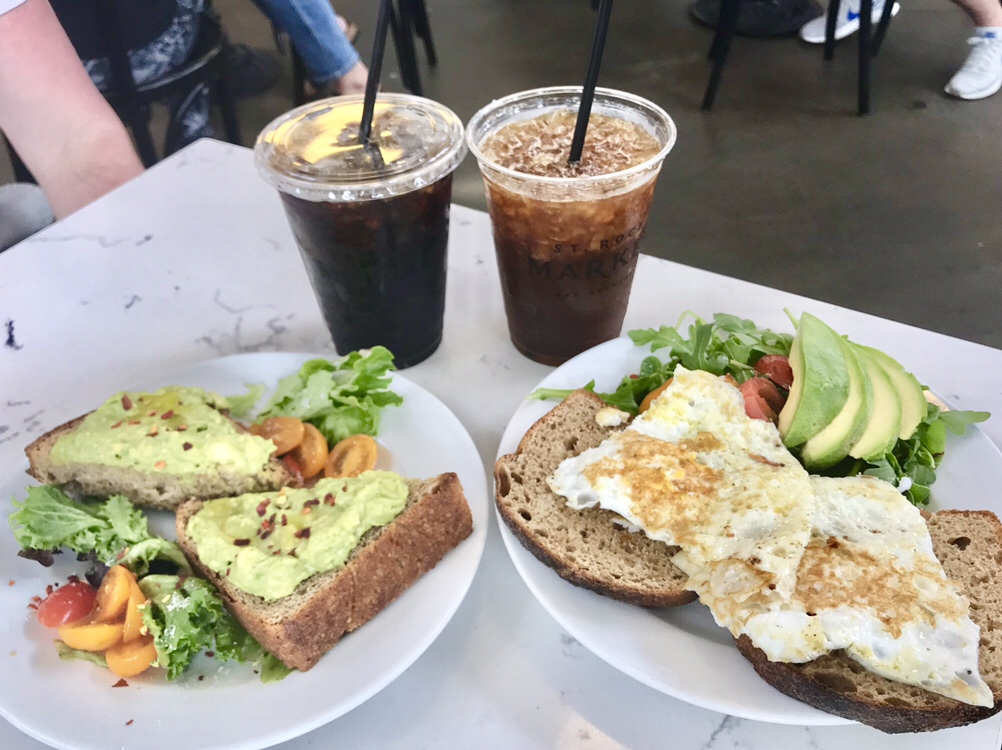 St. Roch Market brunch at the Daily Beet in New Orleans