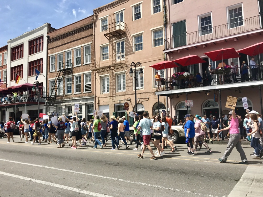 New Orleans March for Our Lives in 2018