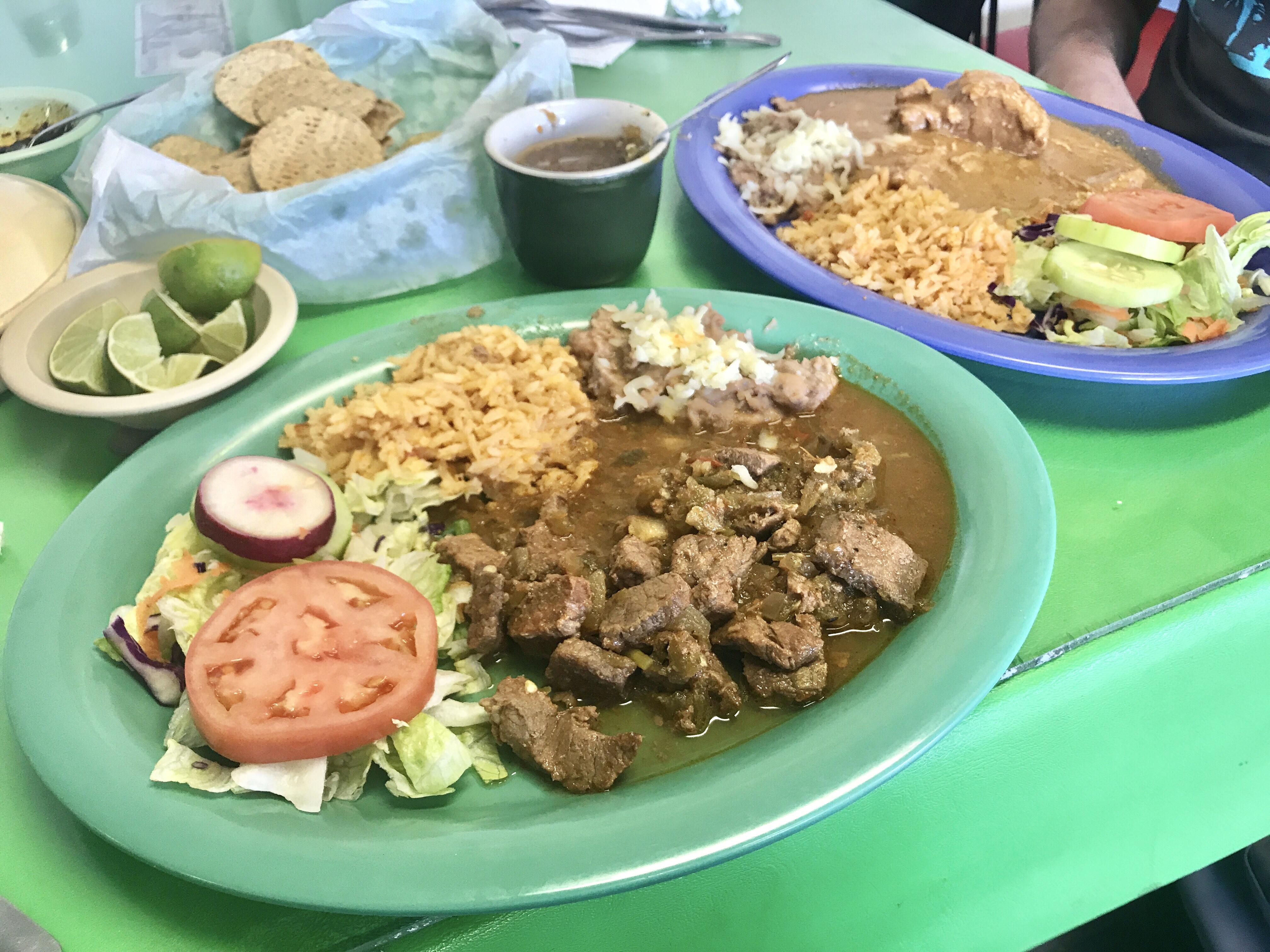 Lunch in El Paso, Texas