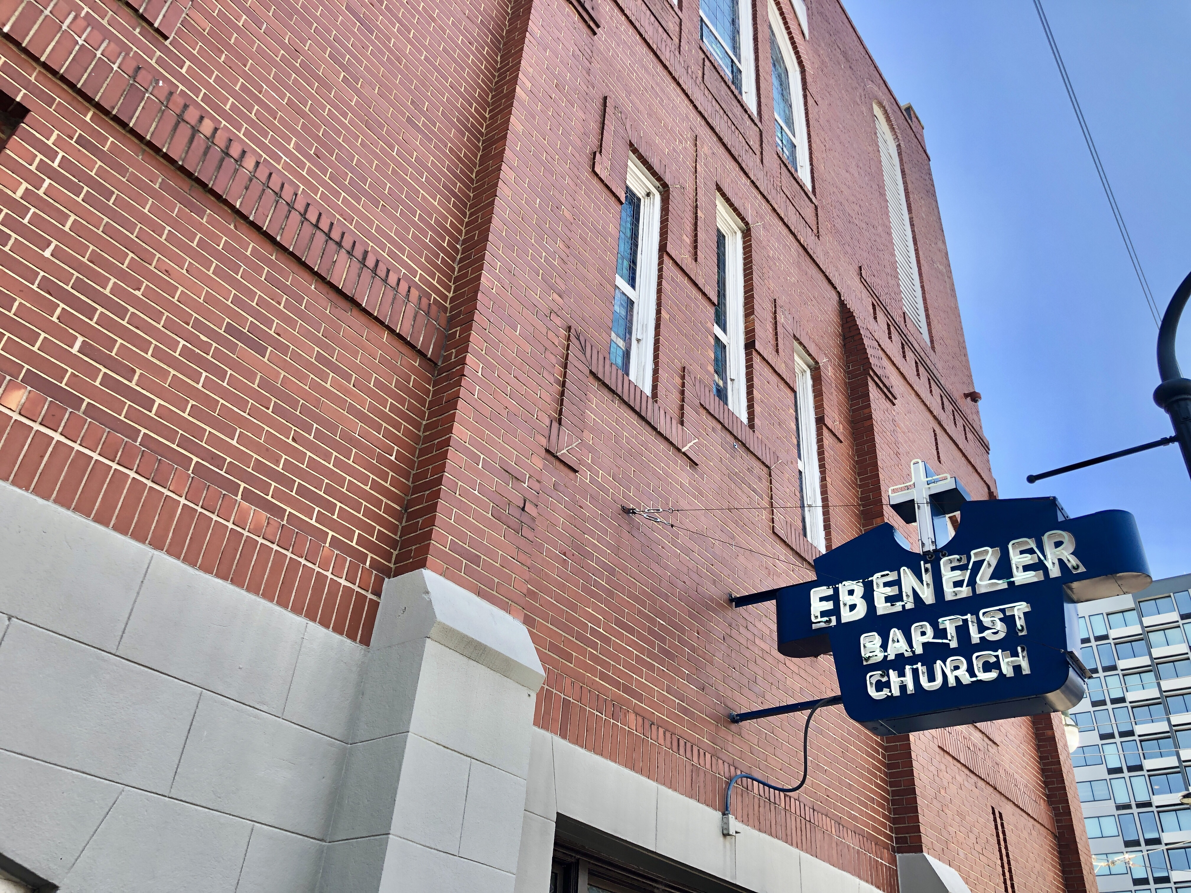 Martin Luther King Jr. National Historical Park and Ebenezer Baptist Church in Atlanta