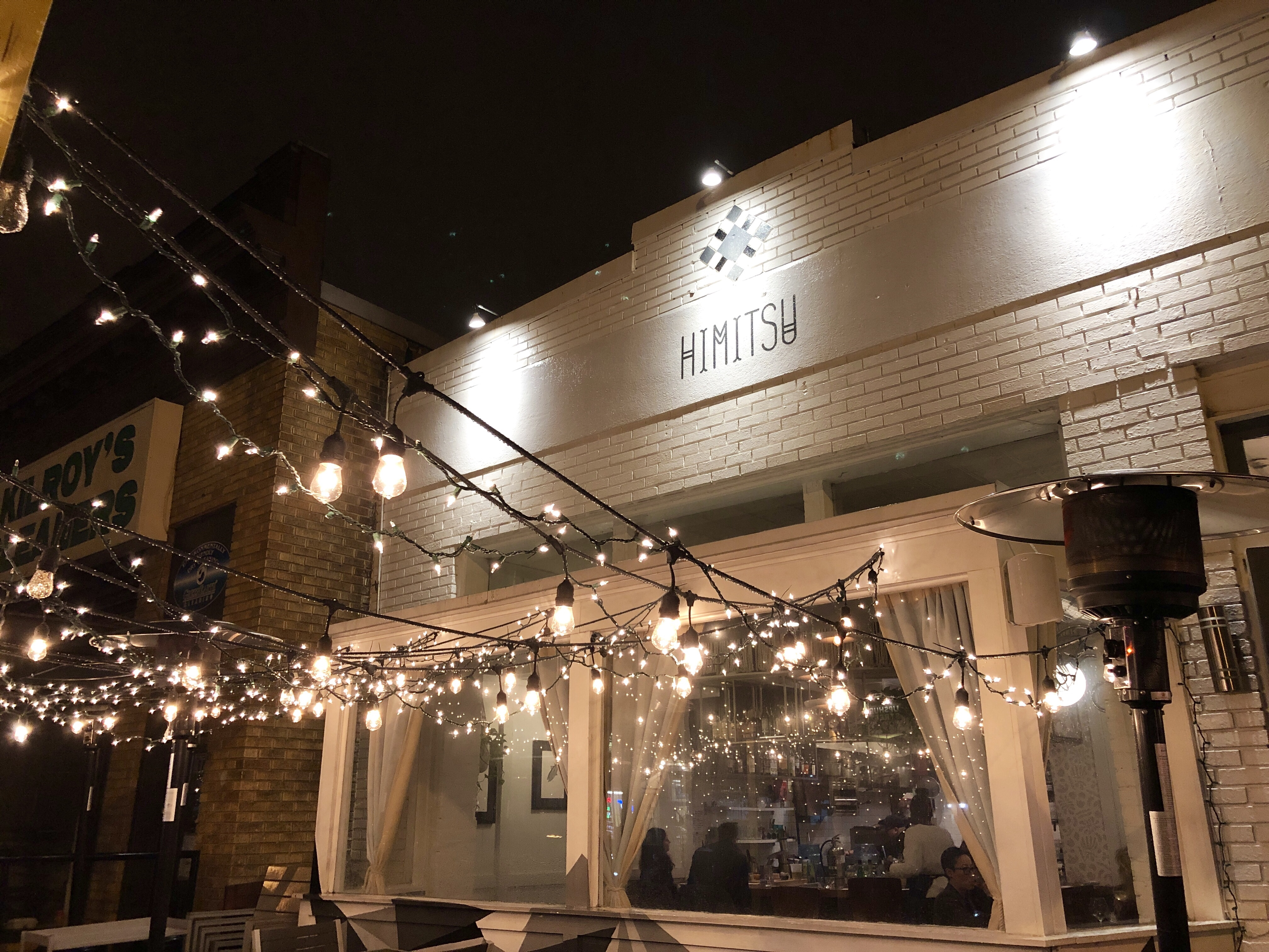 Himitsu restaurant in Petworth, DC