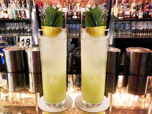 Cucumber mocktails at Anvil Bar and Refuge in Houston, Texas