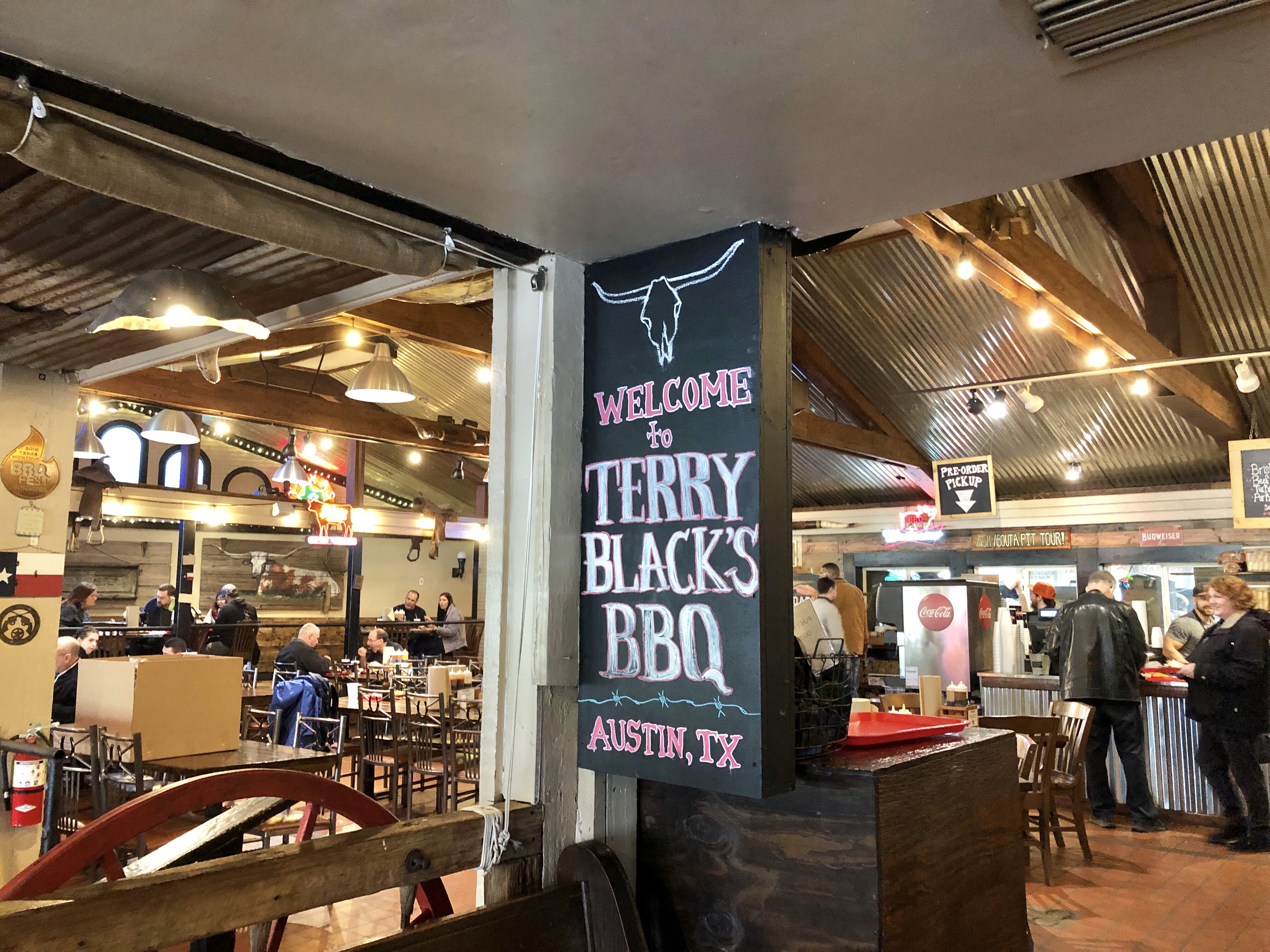Terry Black's Barbecue in Austin, Texas
