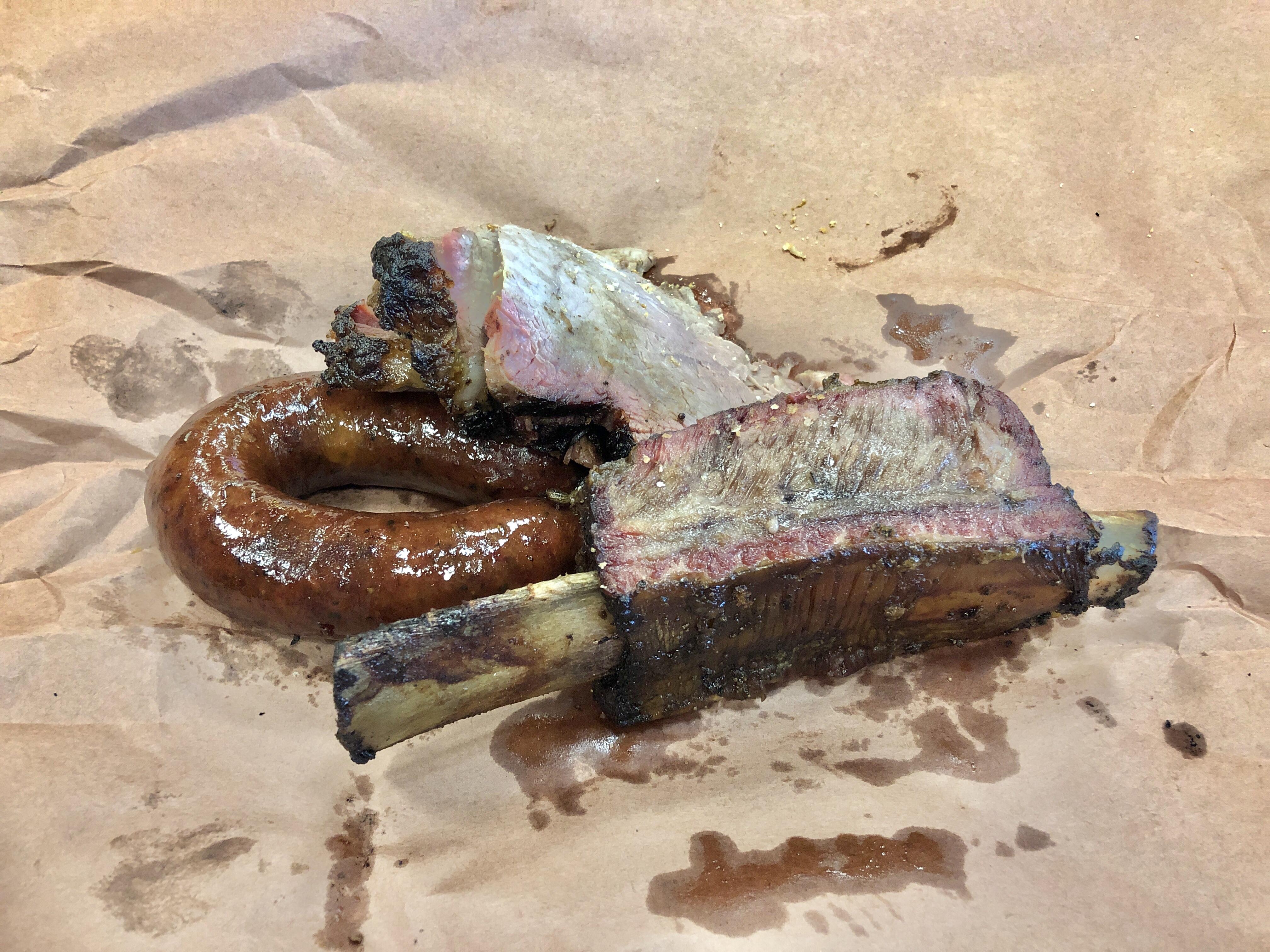 Kreuz Market barbecue in Lockhart, Texas