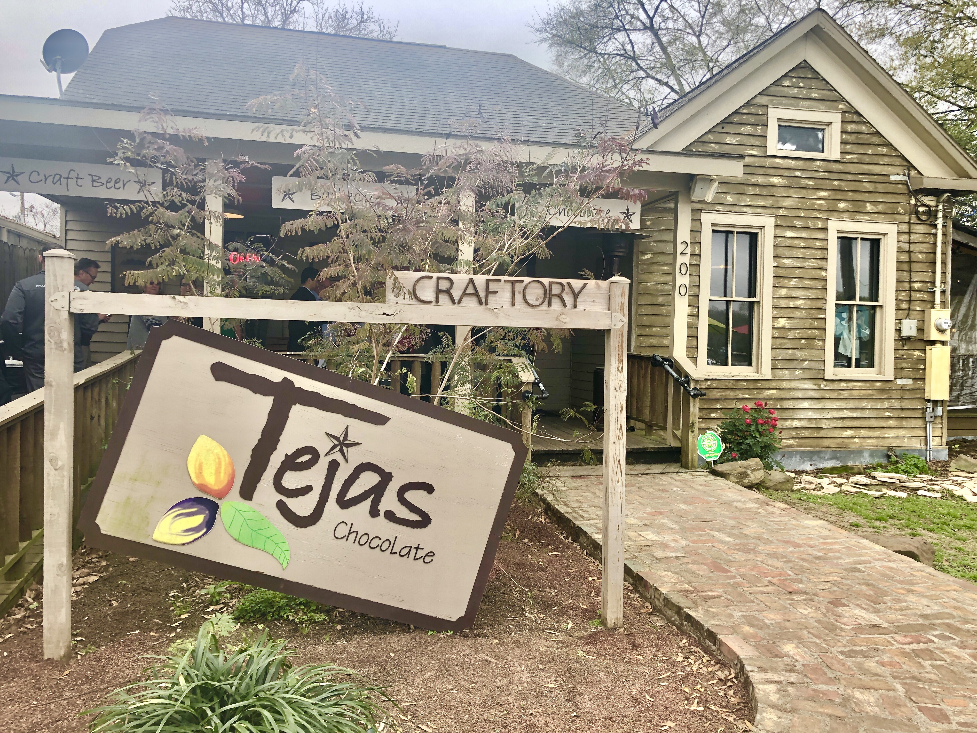 Tejas Chocolate and Barbecue in Tomball, Texas