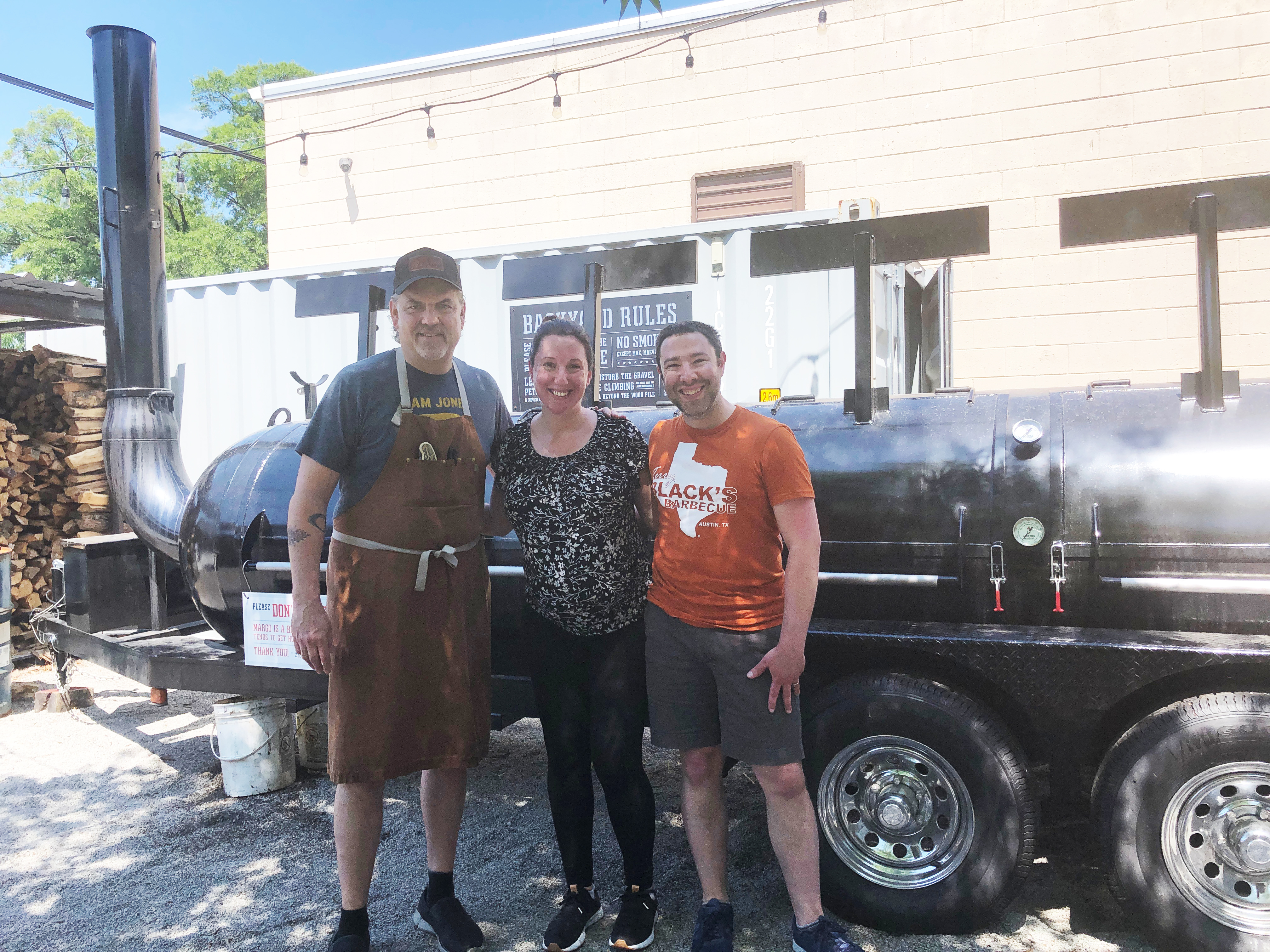 A tour of the smokehouse with Chris Graf at ZZQ in Richmond, Virginia